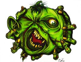 Twiztid-Green Pumpkins by bigbabyretard