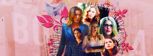 Thea Queen, Felicity Smoak and Laurel Lance by ContagiousGraphic