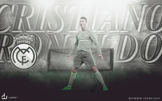 Cristiano Ronaldo Wallpaper V1 by daWIIZ