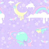 Melty Dream Pattern by MissJediflip