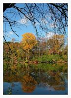 Autumn reflections I by incredi