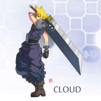 Cloud FF7 by rgm501