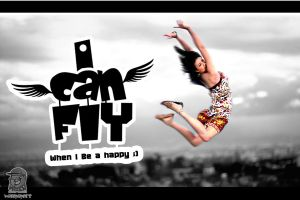 I Can Fly when I Be happy .. You Can by MazenShehab