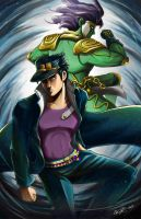 Jotaro Kujo by BurntGreenTea
