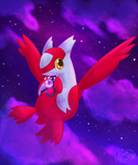 Latias [Redraw] by KiwiBeagle