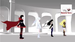 RWBY- Team RWBY by xXevilbugXx