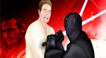 The Clash of Darth Maul and Obi-Wan Kenobi by GronHatchat