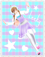 MMD Winter Leeky Love by nyanami