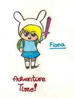 Fionna the Chibi by xOAVRILOx