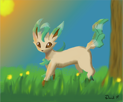 Leafeon by dpisano5