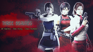 Three Beauties - Resident Evil by lucyferrier