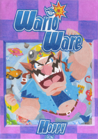 WarioWare Guide Cover by HoppyBadBunny