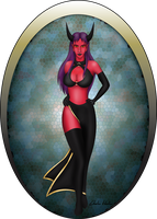 Devil Lilith (2012) by CloserRook