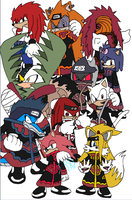 Akatsuki - Sonic Characters by Tails19950