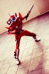 Kamen Rider ACCEL IV by RacoonFactory