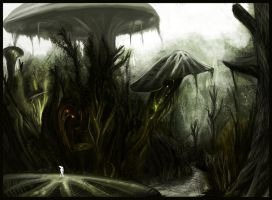Mushroom Forest Concept by TLishman