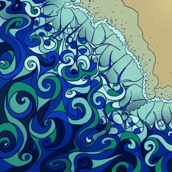 Abstract Waves by Picatso1