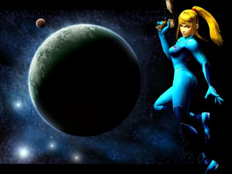 Zero Suit Samus by falcon-zero