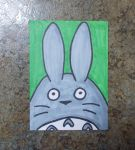 Totoro ACEO by chkimbrough