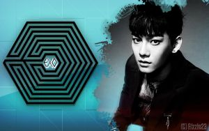 EXO M Chen's Overdose Wallpaper by Rizzie23