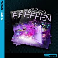 Effen Friday Club Flyer by SALVADORCHARLIE