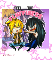 -Commission- FEEL THE FLUFFINESS by Kaichou-Kasai