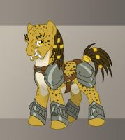 MLP - Predator Pony by merrypaws