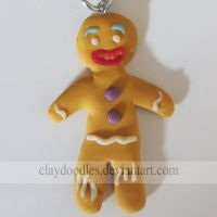 Shrek - Gingy by claydoodles