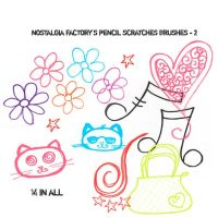 Pencil Drawings Brushes 2 by nostalgia-factory