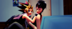 [MMD] Yami and Lelouch by GumiCandy