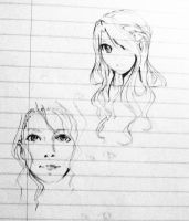 Pencil Doodle during Exam by YXinn
