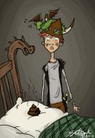 Hiccup and Toothless - Cack-cack by OnlyAifos