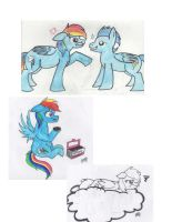 Dash and her mood swings... by CritterInvasion