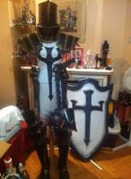 Diablo 3 Crusader Cosplay- Finished!!!! by NaletH