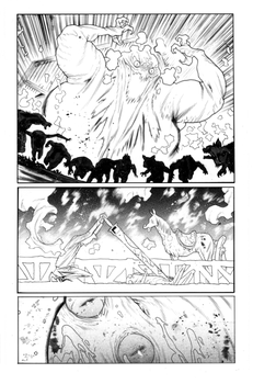 Rumble#6 page 4 by JHarren