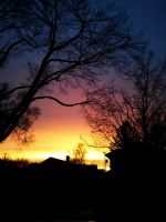 Colorful Indiana Sunset by redwolf518