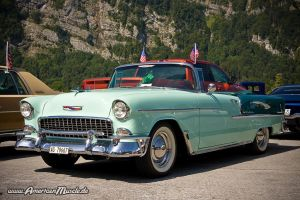 55 Bel Air Convertible II by AmericanMuscle