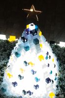 Christmas Cube Tree Lights by dreamcore-creation