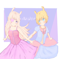 ~My two little Cuties~ by XxMariCakesxX