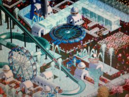 My own Six Flags park 008 by xSofticatious