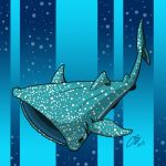 Whale Shark by Little-Bluefish