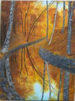Autumn Reflections by crazycolleeny
