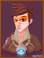 Overwatch: Tracer by Meepars