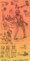 SKETCHDUMP with comic by twistedCaliber