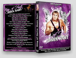 DVD Cover: King of Harts - Owen hart by EightRedd