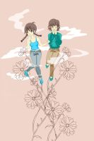 Girls And Chrysanthemums72 by xiaoyingchang