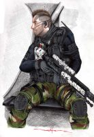 Captain 'Soap' MacTavish - MW2 by Schwarze1