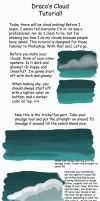 Cloud Tutorial by draconianspirit