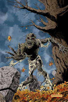 Gathering Horror Cover by EdwardWhatley