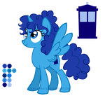 Reference Sheet: The TARDIS by LissyStrata